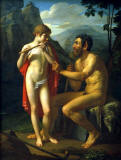 Piotr-Vasilyevich -Basin-Faun-Marsyas-teaches-young-Olympia-to-play-the-flute