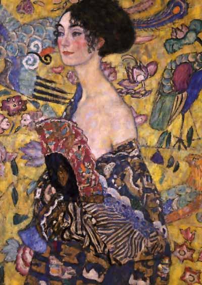 La obra de Gustav Klimt Gustav_klimt_Dama_con_abanico