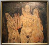 Egon Schielle 3 estados en la mujer - museo Leopold de Viena