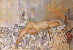 Nude_on_Spanish_Blanket_by_Henri_Lebasque